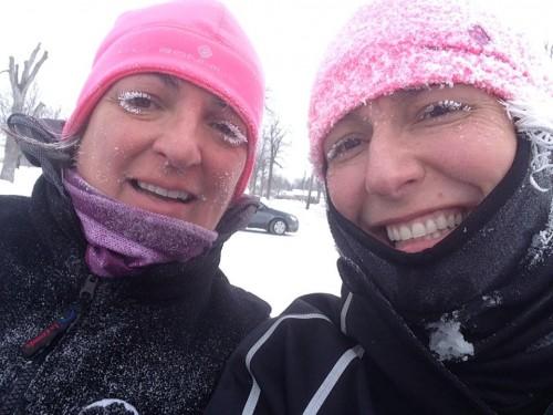 Course février 2015 avec Julie Martel